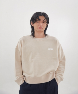 [ffai] ffai CROP LOGO SWEAT-SHIRT