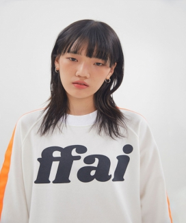 [ffai] ffai LINE LOGO SWEAT-SHIRT