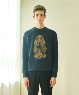 [CLIF] COCKER WOOL KNIT