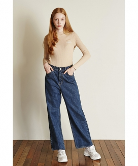 [Between A and B] WIDE FIT DENIM PANTS
