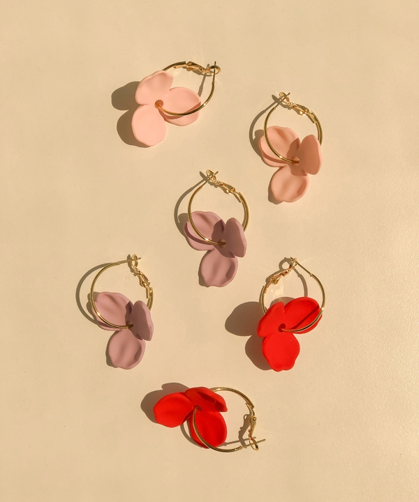 [Anna Flair] LILLY FLOWER EARRINGS