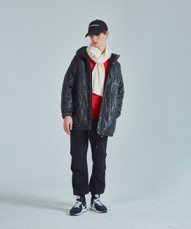 [RSVP] INDUSTRIES QUILTED JUMPER