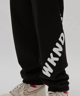 [WKNDRS] WKNDRS SWEAT PANTS