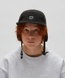 [WKNDRS] FLEECE EAR MUFFS CAP