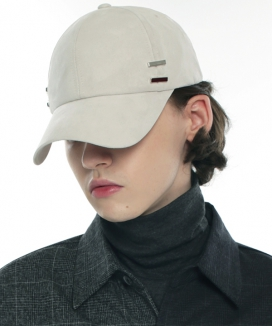 [S SY] SUEDE IRON TIP D.RING CAP