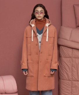 [UNALLOYED] STRING DUFFLE COAT