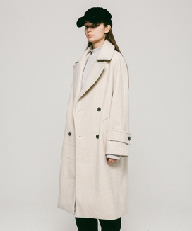 [APPARELXIT] UNISEX BIG COLLAR COAT