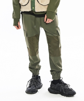 [S SY] EXCLUSIVE SECTION JOGGER PANTS