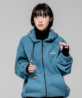 [RUNNING HIGH] HEAVY FLEECE ZIP UP HOODIE