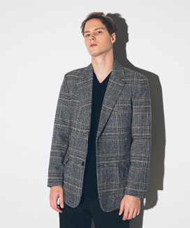 [suare] MAPLE CHECK JACKET