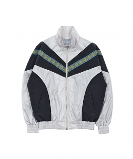 [youthbath] Retro zip-up track jacket _TJ04