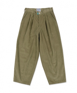 [youthbath] Wide tapered-fit corduroy pants_BP22