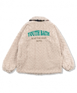 [youthbath] Collar string eco fur jacket_TJ08