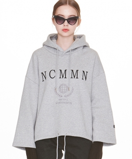 [NOYCOMMON] PEACEFUL WIDE HOODIE