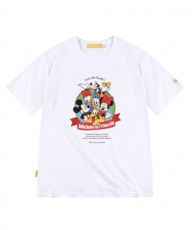 [MAINBOOTH] Mickey Mouse Love The Earth T-shirt / ミッキーマウス ラブジアースティーシャツ