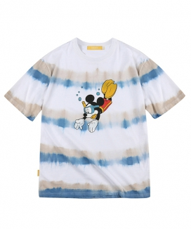 [MAINBOOTH] Mickey Mouse Tie-dye T-shirt / ミッキーマウス タイダイティーシャツ