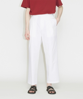 [CHK] CHK 001 RELAXED CROPPED PANTS / リラックス クロップパンツ