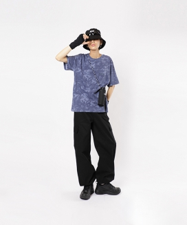 [BASIC COTTON] BCN TIE-DYE TOP / BCNタイダイティーシャツ