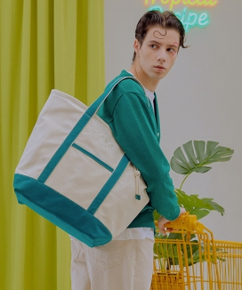 [BBYB] Tropical Market Bag (Extra-large) / トロピカルマーケットバッグ(XL)