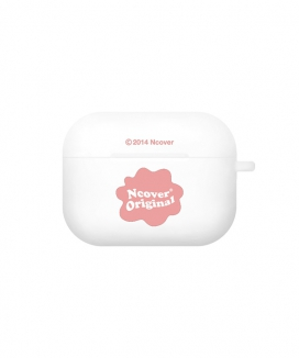 [NCOVER] Cloud shape logo(airpods pro jelly) / クラウドシェイプロゴ(AirPodsProソフトケース)