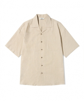 [Diamond Layla] Layla blind for love Basic Linen 1/2 shirt S59 / ベーシックリネンハーフシャツS59