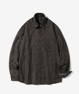 [Diamond Layla] Layla blind for love Bait Madras Check Shirt S66 / バイト マドラス チェックシャツ