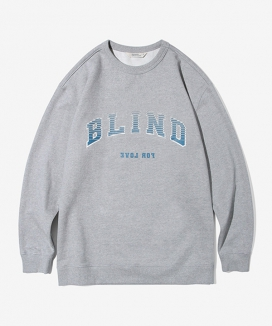 [Diamond Layla] Layla blind for love Sleeve Big Logo Heavy Cotton SweatShirt T43 / スリーブビッグロゴ ヘビーコットンスウェットシャツ