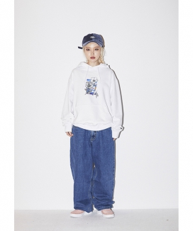 [BSRABBIT] ROS SKY WELCOME DRY HOODIE / ロズスカイ ウェルカムドライフーディ