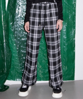 [B ABLE TWO] Stacy Check Pants / ステイシーチェックパンツ