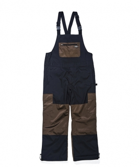 [BSRABBIT] BSR SHINE BIB PANTS / BSRシャインビブパンツ