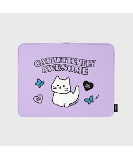 [EARPEARP] オーサムキャット(13インチ ノートブックポーチ)  / Awesome cat (13inch notebook pouch)