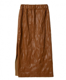 [1159STUDIO] リンクルレザースカート / A3 WRINKLE LEATHER SKIRT