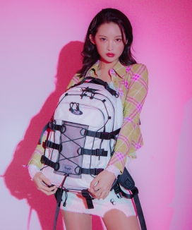 [DAYLIFE] ダブルストリングバックパック / DOUBLE STRING BACKPACK