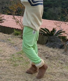 [PLZPROJECT] レイジーテリージョガーパンツ / [PLZPROJECT] lazy terry jogger pt