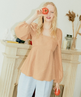 [Le Forong] ハピネスブラウス / Happiness Blouse