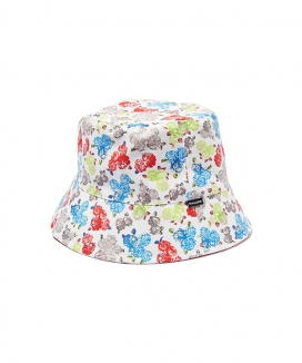 [WKNDRS] リバーシブル フローラルバケットハット / REVERSIBLE FLORAL BUCKET HAT