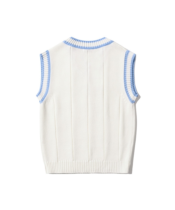 [5252 by oioi] ベーシックニットベスト / BASIC KNIT VEST