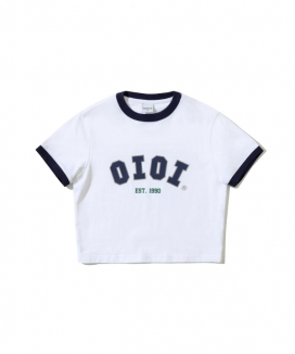 [5252 by oioi] シグネチャークロップティーシャツ / SIGNATURE CROP T-SHIRTS