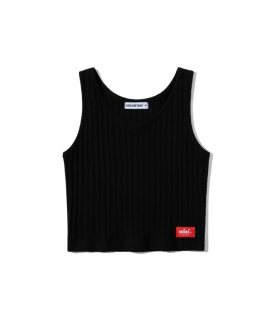 [5252 by oioi] ベーシックニットクロップトップ / BASIC KNIT CROP TOP