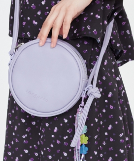 [TARGETTO] フェイクレザーサークルバッグ / FAUX LEATHER CIRCLE BAG