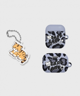 [EARPEARP] [KONVINI限定] タイガージョワairpodsケース(ハード)&キーリングセット / Tiger joie(air pods)+Tiger joie(Keyring)
