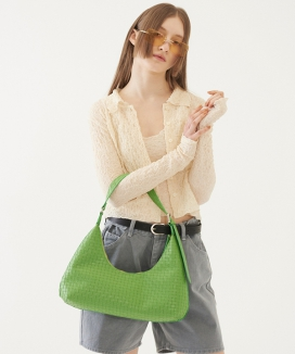[TMO BY 13MONTH] カーブドシェイプバッグ / CURVED SHAPE BAG