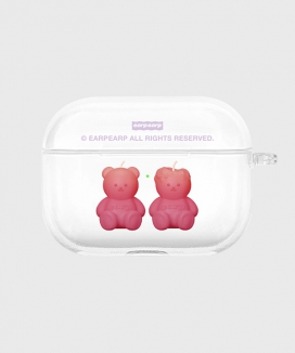 [EARPEARP] リトルファイヤーコビー airpods proケース(クリア) / Little fire covy-clear(clear air pods pro)