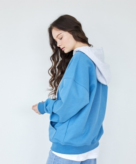 [Stitch.D] カラーコンビフーディ / COLOR COMBI HOODIE