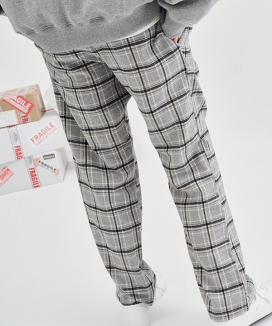 [replaycontainer] リーコンチェックパンツ / recon check pants