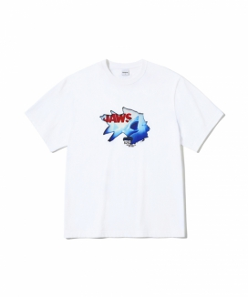 [5252 by oioi] ジョーズ クラックティーシャツ / JAWS CRACK T-SHIRTS