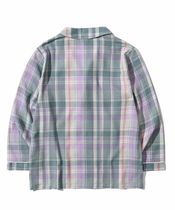 [5252 by oioi] ロゴフランネルパジャマ / LOGO FLANNEL PAJAMAS
