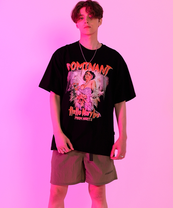 [dominant] MARRYオーバーフィットティーシャツ / DOMINANT MARRY OVER FIT T-SHIRTS