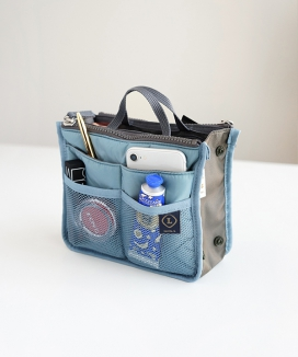 [INVITE. L] コンパクトデュアル バッグinバッグ / Compact Dual Bag In Bag